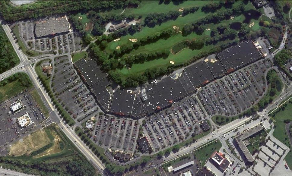 Brandywine Square aerial