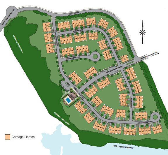 arbours site-map