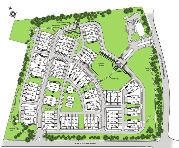 pickering crossing siteplan